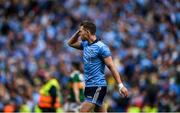 1 September 2019; Dean Rock of Dublin reacts following the final whistle at the GAA Football All-Ireland Senior Championship Final match between Dublin and Kerry at Croke Park in Dublin. Photo by Harry Murphy/Sportsfile