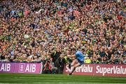 1 September 2019; Dean Rock of Dublin takes a last minute free kick during the GAA Football All-Ireland Senior Championship Final match between Dublin and Kerry at Croke Park in Dublin. Photo by David Fitzgerald/Sportsfile