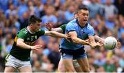 1 September 2019; Con O'Callaghan of Dublin in action against Paul Murphy, left, and Tom O'Sullivan of Kerry during the GAA Football All-Ireland Senior Championship Final match between Dublin and Kerry at Croke Park in Dublin. Photo by Piaras Ó Mídheach/Sportsfile