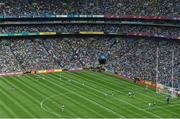 1 September 2019; Dean Rock of Dublin kicks a free late in the GAA Football All-Ireland Senior Championship Final match between Dublin and Kerry at Croke Park in Dublin. Photo by Daire Brennan/Sportsfile