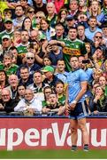 1 September 2019; Dean Rock of Dublin prepares to kick a last minute free with the last kick of the game during the GAA Football All-Ireland Senior Championship Final match between Dublin and Kerry at Croke Park in Dublin. Photo by Brendan Moran/Sportsfile