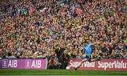 1 September 2019; Dean Rock of Dublin takes a free in the final seconds during the GAA Football All-Ireland Senior Championship Final match between Dublin and Kerry at Croke Park in Dublin. Photo by David Fitzgerald/Sportsfile