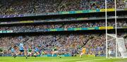1 September 2019; Jack McCaffrey of Dublin shoots past Kerry full back Tadhg Morley and goalkeeper Shane Ryan to score his side's goal during the GAA Football All-Ireland Senior Championship Final match between Dublin and Kerry at Croke Park in Dublin.  Photo by Ray McManus/Sportsfile