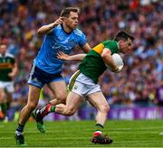 1 September 2019; Paul Murphy of Kerry in action against Dean Rock of Dublin during the GAA Football All-Ireland Senior Championship Final match between Dublin and Kerry at Croke Park in Dublin. Photo by Ray McManus/Sportsfile
