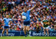 1 September 2019; Dean Rock of Dublin kicks a free during the GAA Football All-Ireland Senior Championship Final match between Dublin and Kerry at Croke Park in Dublin. Photo by Ray McManus/Sportsfile