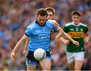 1 September 2019; Jack McCaffrey of Dublin in action against Gavin White of Kerry during the GAA Football All-Ireland Senior Championship Final match between Dublin and Kerry at Croke Park in Dublin. Photo by Seb Daly/Sportsfile