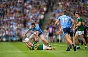 1 September 2019; Jack McCaffrey of Dublin in action against Gavin Crowley of Kerry during the GAA Football All-Ireland Senior Championship Final match between Dublin and Kerry at Croke Park in Dublin. Photo by Eóin Noonan/Sportsfile