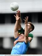 1 September 2019; Adrian Spillane of Kerry in action against Brian Howard of Dublin during the GAA Football All-Ireland Senior Championship Final match between Dublin and Kerry at Croke Park in Dublin. Photo by Ramsey Cardy/Sportsfile