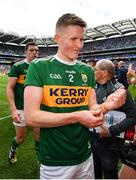 1 September 2019; Jason Foley of Kerry leaves the field following the GAA Football All-Ireland Senior Championship Final match between Dublin and Kerry at Croke Park in Dublin. Photo by Seb Daly/Sportsfile