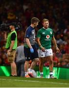 31 August 2019; Kieran Marmion of Ireland leaves the field during the Under Armour Summer Series 2019 match between Wales and Ireland at the Principality Stadium in Cardiff, Wales. Photo by David Fitzgerald/Sportsfile