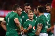 31 August 2019; Kieran Marmion of Ireland speaks to the forwards during the Under Armour Summer Series 2019 match between Wales and Ireland at the Principality Stadium in Cardiff, Wales. Photo by David Fitzgerald/Sportsfile