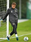 2 September 2019; Mark Travers during a Republic of Ireland training session at the FAI National Training Centre in Abbotstown, Dublin. Photo by Seb Daly/Sportsfile
