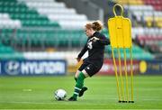 2 September 2019; Amber Barrett during a Republic of Ireland WNT training session at Tallaght Stadium in Tallaght, Dublin. Photo by Piaras Ó Mídheach/Sportsfile