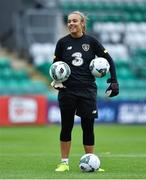 2 September 2019; Grace Moloney during a Republic of Ireland WNT training session at Tallaght Stadium in Tallaght, Dublin. Photo by Piaras Ó Mídheach/Sportsfile