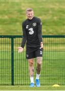 2 September 2019; James McClean during a Republic of Ireland training session at the FAI National Training Centre in Abbotstown, Dublin. Photo by Stephen McCarthy/Sportsfile