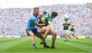 1 September 2019; David Clifford of Kerry in action against Jonny Cooper of Dublin during the GAA Football All-Ireland Senior Championship Final match between Dublin and Kerry at Croke Park in Dublin. Photo by David Fitzgerald/Sportsfile