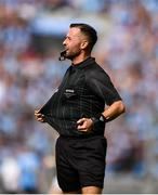 1 September 2019; Referee David Gough during the GAA Football All-Ireland Senior Championship Final match between Dublin and Kerry at Croke Park in Dublin. Photo by David Fitzgerald/Sportsfile
