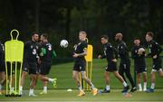 3 September 2019; James McClean, centre, during a Republic of Ireland training session at FAI National Training Centre in Abbotstown, Dublin. Photo by Stephen McCarthy/Sportsfile