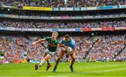 1 September 2019; James McCarthy of Dublin in action against Tommy Walsh of Kerry during the GAA Football All-Ireland Senior Championship Final match between Dublin and Kerry at Croke Park in Dublin. Photo by Ramsey Cardy/Sportsfile