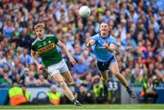 1 September 2019; Ciarán Kilkenny of Dublin in action against Tommy Walsh of Kerry during the GAA Football All-Ireland Senior Championship Final match between Dublin and Kerry at Croke Park in Dublin. Photo by Ramsey Cardy/Sportsfile