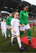 3 September 2019; Rianna Jarrett of Republic of Ireland during the UEFA Women's 2021 European Championships Qualifier Group I match between Republic of Ireland and Montenegro at Tallaght Stadium in Dublin. Photo by Stephen McCarthy/Sportsfile
