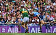 1 September 2019; David Clifford of Kerry in action against Jonny Cooper of Dublin during the GAA Football All-Ireland Senior Championship Final match between Dublin and Kerry at Croke Park in Dublin. Photo by Piaras Ó Mídheach/Sportsfile