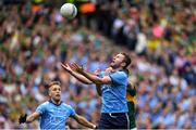 1 September 2019; Jack McCaffrey of Dublin, supported by team-mate Jonny Cooper, in action against Adrian Spillane of Kerry during the GAA Football All-Ireland Senior Championship Final match between Dublin and Kerry at Croke Park in Dublin. Photo by Piaras Ó Mídheach/Sportsfile
