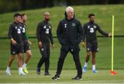 4 September 2019; Republic of Ireland manager Mick McCarthy during a Republic of Ireland training session at the FAI National Training Centre in Abbotstown, Dublin. Photo by Stephen McCarthy/Sportsfile