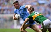 1 September 2019; Paddy Small of Dublin gets past Stephen O'Brien of Kerry during the GAA Football All-Ireland Senior Championship Final match between Dublin and Kerry at Croke Park in Dublin. Photo by Piaras Ó Mídheach/Sportsfile
