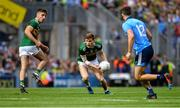 1 September 2019; Gavin White of Kerry, supported by team-mate Adrian Spillane, in action against Brian Howard of Dublin during the GAA Football All-Ireland Senior Championship Final match between Dublin and Kerry at Croke Park in Dublin. Photo by Piaras Ó Mídheach/Sportsfile