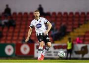 2 September 2019; Andy Boyle of Dundalk during the SSE Airtricity League Premier Division match between Sligo Rovers and Dundalk at The Showgrounds in Sligo. Photo by Eóin Noonan/Sportsfile
