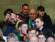 5 September 2019; Minister for Transport, Tourism and Sport Shane Ross T.D. during the UEFA EURO2020 Qualifier Group D match between Republic of Ireland and Switzerland at Aviva Stadium, Lansdowne Road in Dublin. Photo by Seb Daly/Sportsfile
