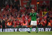 5 September 2019; David McGoldrick of Republic of Ireland during the UEFA EURO2020 Qualifier Group D match between Republic of Ireland and Switzerland at Aviva Stadium, Lansdowne Road in Dublin. Photo by Stephen McCarthy/Sportsfile
