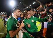 6 September 2019; Troy Parrott of Republic of Ireland following the UEFA European U21 Championship Qualifier Group 1 match between Republic of Ireland and Armenia at Tallaght Stadium in Tallaght, Dublin. Photo by Stephen McCarthy/Sportsfile