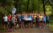 7 September 2019; parkrun Ireland in partnership with Vhi, added a new parkrun on Saturday, 7th September, with the introduction of the Deerpark Forest parkrun in Virginia, Co. Cavan. Parkruns take place over a 5km course weekly, are free to enter and are open to all ages and abilities, providing a fun and safe environment to enjoy exercise. To register for a parkrun near you visit www.parkrun.ie. Runners prior to the Deerpark Forest parkrun at Deepark Forest in Virginia, Cavan. Photo by David Fitzgerald/Sportsfile