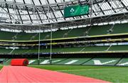 7 September 2019; A general view of Aviva Stadium prior to the Guinness Summer Series match between Ireland and Wales at Aviva Stadium in Dublin.Photo by Brendan Moran/Sportsfile