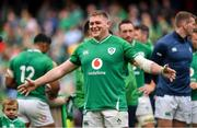 7 September 2019; Tadhg Furlong of Ireland following the Guinness Summer Series match between Ireland and Wales at Aviva Stadium in Dublin. Photo by David Fitzgerald/Sportsfile