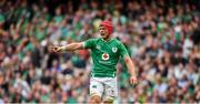 7 September 2019; Josh van der Flier of Ireland during the Guinness Summer Series match between Ireland and Wales at Aviva Stadium in Dublin. Photo by David Fitzgerald/Sportsfile