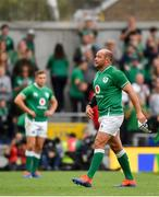 7 September 2019; Rory Best of Ireland leaves the pitch after being substituted during the Guinness Summer Series match between Ireland and Wales at Aviva Stadium in Dublin. Photo by David Fitzgerald/Sportsfile