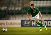 6 September 2019; Troy Parrott of Republic of Ireland during the UEFA European U21 Championship Qualifier Group 1 match between Republic of Ireland and Armenia at Tallaght Stadium in Tallaght, Dublin. Photo by Stephen McCarthy/Sportsfile