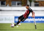 7 September 2019; Stefan Balog of Bohemians during the Megazyme Amputee Football League Cup Finals at Carlisle Grounds in Bray, Co Wicklow. Photo by Stephen McCarthy/Sportsfile