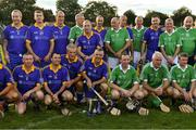 7 September 2019; Tipperary and Limerick players after The Alzheimer Society of Ireland hosting Bluebird Care sponsored Tipperary v Limerick hurling fundraiser match at Nenagh Éire Óg, Nenagh, Co Tipperary. This unique fundraising initiative, to mark World Alzheimer's Month 2019, was the brainchild of two leading Munster dementia advocates, Kevin Quaid and Kathy Ryan, who both have a dementia diagnosis. All the money raised will go towards providing community services and advocacy supports in the Munster area and beyond. Photo by Piaras Ó Mídheach/Sportsfile