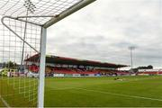 7 September 2019; A general view before the Extra.ie FAI Cup Quarter-Final match between Sligo Rovers and UCD at The Showgrounds in Sligo. Photo by Oliver McVeigh/Sportsfile