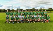 7 September 2019; The Limerick squad before The Alzheimer Society of Ireland hosting Bluebird Care sponsored Tipperary v Limerick hurling fundraiser match at Nenagh Éire Óg, Nenagh, Co Tipperary. This unique fundraising initiative, to mark World Alzheimer's Month 2019, was the brainchild of two leading Munster dementia advocates, Kevin Quaid and Kathy Ryan, who both have a dementia diagnosis. All the money raised will go towards providing community services and advocacy supports in the Munster area and beyond. Photo by Piaras Ó Mídheach/Sportsfile