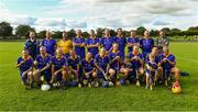 7 September 2019; The Tipperary squad before The Alzheimer Society of Ireland hosting Bluebird Care sponsored Tipperary v Limerick hurling fundraiser match at Nenagh Éire Óg, Nenagh, Co Tipperary. This unique fundraising initiative, to mark World Alzheimer's Month 2019, was the brainchild of two leading Munster dementia advocates, Kevin Quaid and Kathy Ryan, who both have a dementia diagnosis. All the money raised will go towards providing community services and advocacy supports in the Munster area and beyond. Photo by Piaras Ó Mídheach/Sportsfile