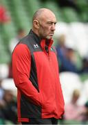 7 September 2019; Wales forwards coach Robin McBryde ahead of the Guinness Summer Series match between Ireland and Wales at the Aviva Stadium in Dublin. Photo by Ramsey Cardy/Sportsfile