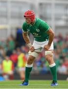 7 September 2019; Josh van der Flier of Ireland during the Guinness Summer Series match between Ireland and Wales at the Aviva Stadium in Dublin. Photo by Ramsey Cardy/Sportsfile