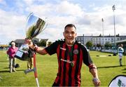 7 September 2019; Stefan Balog of Bohemians celebrates following the Megazyme Amputee Football League Cup Finals at Carlisle Grounds in Bray, Co Wicklow. Photo by Stephen McCarthy/Sportsfile