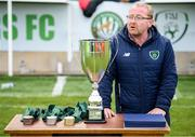 7 September 2019; Colm Young, FAI Senior Council Representative for Football For All, during the Megazyme Amputee Football League Cup Finals at Carlisle Grounds in Bray, Co Wicklow. Photo by Stephen McCarthy/Sportsfile