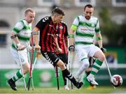 7 September 2019; Neil Hoey of Bohemians during the Megazyme Amputee Football League Cup Finals at Carlisle Grounds in Bray, Co Wicklow. Photo by Stephen McCarthy/Sportsfile